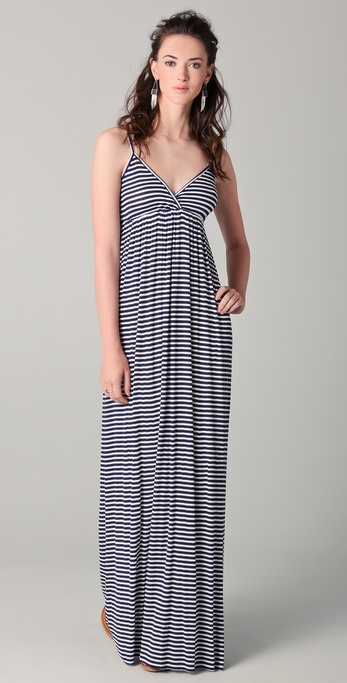 Rachel Pally Lars Ribbed Maxi Dress