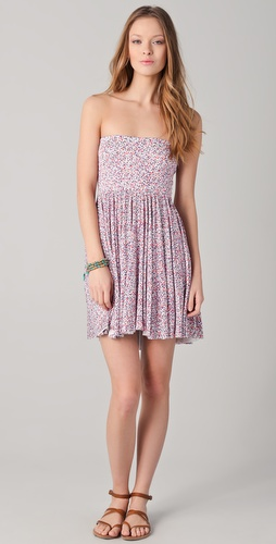 Rachel Pally Marley Strapless Dress