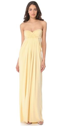 Rachel Pally Long Fortuna Strapless Dress