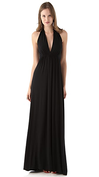 Rachel Pally Kyrie Deep V Maxi Dress