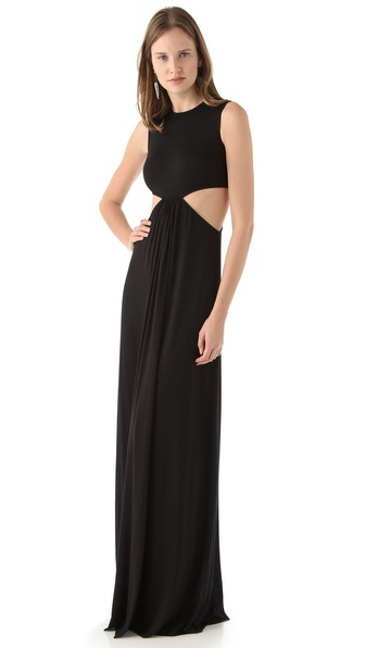 Rachel Pally Hope Cutout Maxi Dress