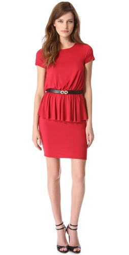 Rachel Pally Abella Peplum Dress