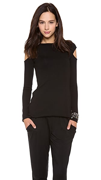 Rachel Pally Shoulder Cutout Sweater