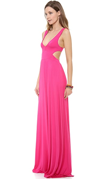 Rachel Pally Cutout Maxi Dress