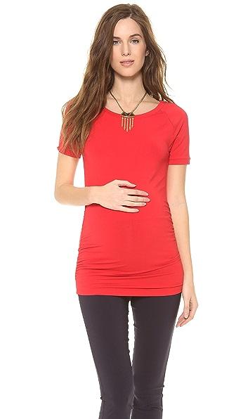 Rosie Pope Short Sleeve Sylvie Maternity Top
