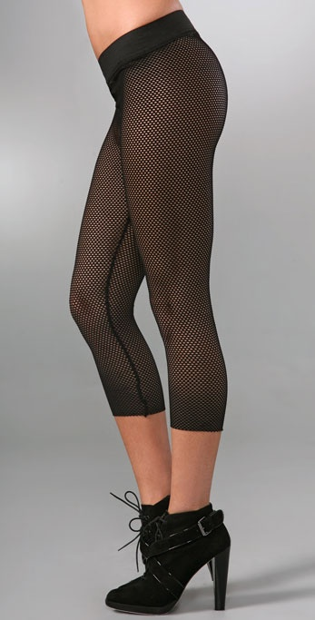 Robert Rodriguez Mesh Leggings