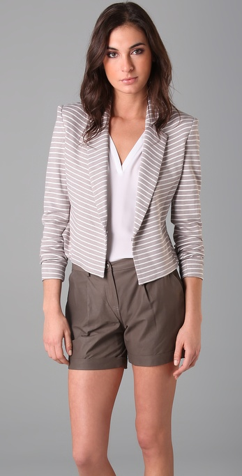 Robert Rodriguez Striped Blazer