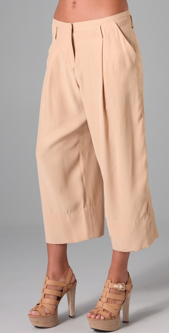 Robert Rodriguez Cropped Wide Leg Pants