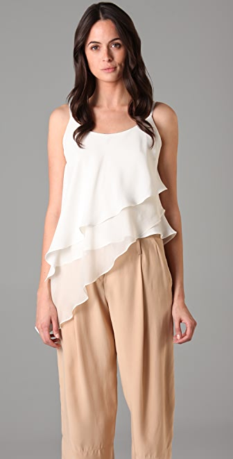 Robert Rodriguez Asymmetrical Layer Top