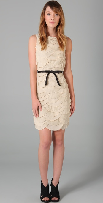 Robert Rodriguez Scallop Dress