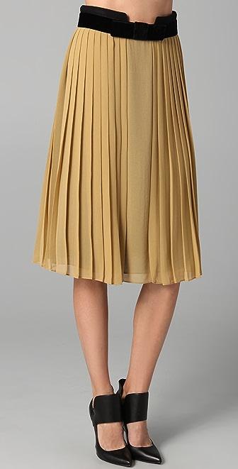 Robert Rodriguez Pleated Skirt
