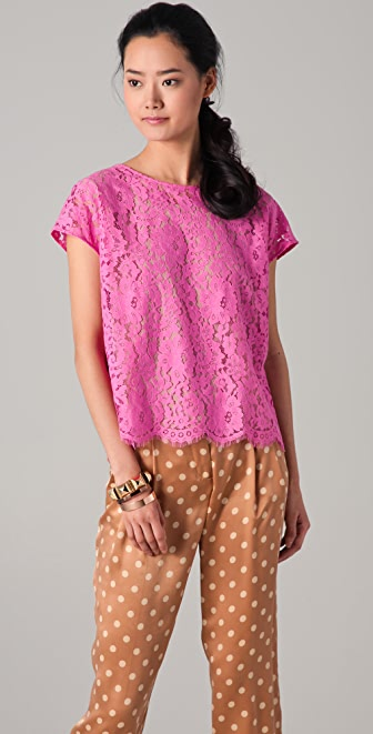 Robert Rodriguez Must Have Lace Tee