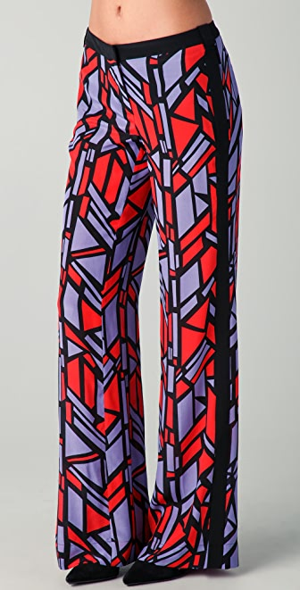 Robert Rodriguez Stained Glass Trousers