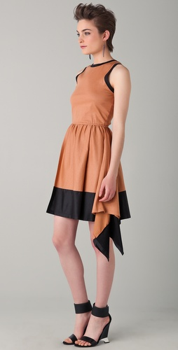 Robert Rodriguez Handkerchief Tee Dress