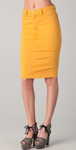 Robert Rodriguez Pencil Skirt