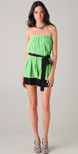 Robert Rodriguez Colorblock Romper