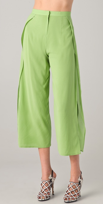 Robert Rodriguez Wrap Gaucho Trousers