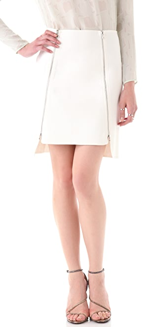 Robert Rodriguez Dual Zip Skirt