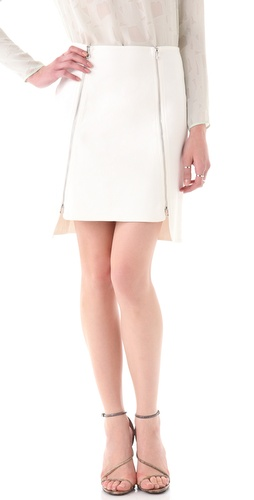 Robert Rodriguez Dual Zip Skirt