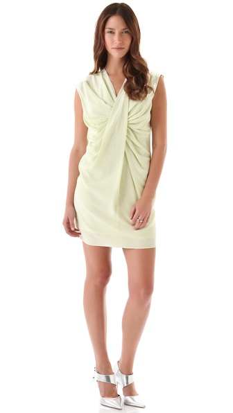 Robert Rodriguez Twisted Front Shift Dress