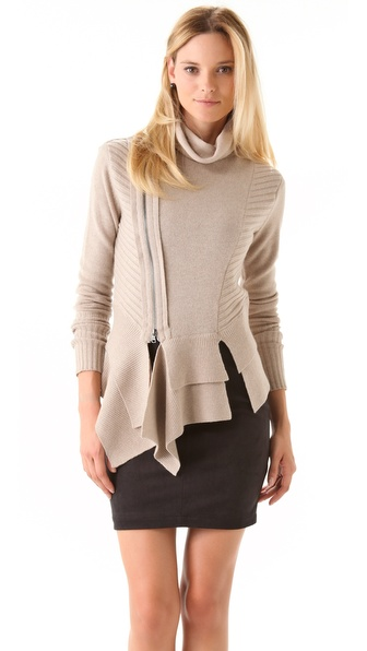 Robert Rodriguez Ruffle Hem Pullover