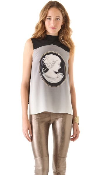 Robert Rodriguez Sleeveless Cameo Top