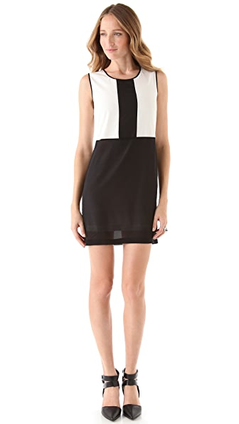 Robert Rodriguez Colorblock Dress