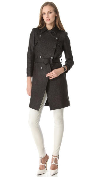 Robert Rodriguez Raffia Moto Coat