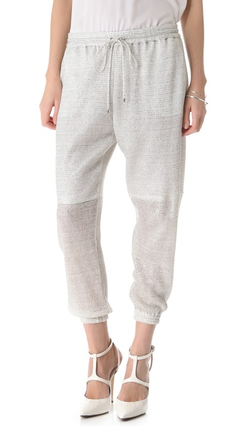 Robert Rodriguez Raffia Track Pants