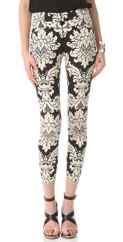 Robert Rodriguez Baroque Print Pants