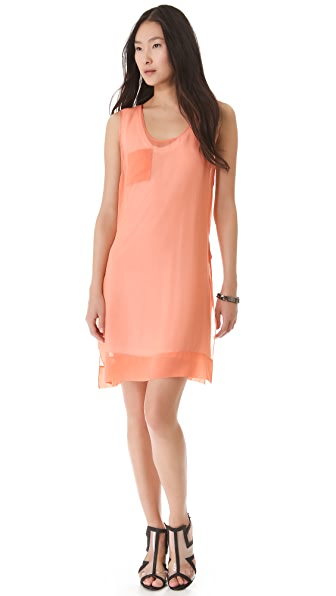 Robert Rodriguez Sheer Tank Dress