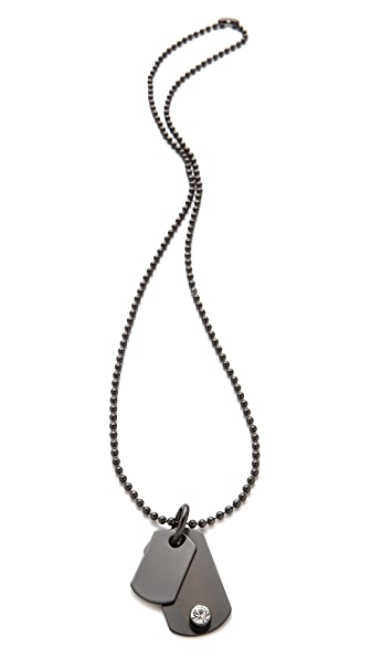 Robert Rodriguez Dog Tag Necklace
