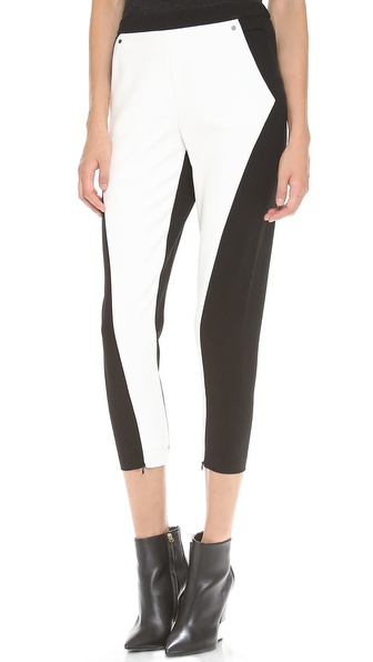 Robert Rodriguez Techno Blocked Trousers
