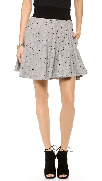 Robert Rodriguez Burnout Flip Skirt
