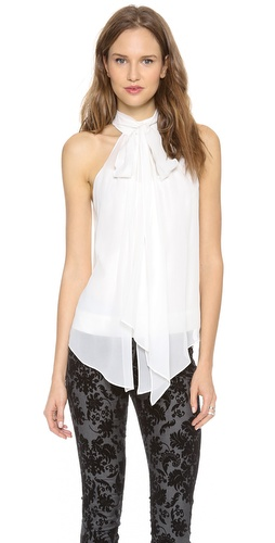 Robert Rodriguez Silk Tie Top at Shopbop / East Dane