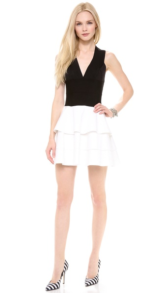 Robert Rodriguez Knit & Cotton Dress