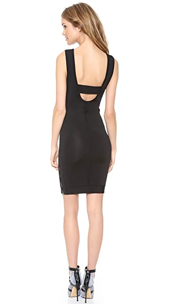 Robert Rodriguez Techno Knit Dress