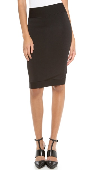 Robert Rodriguez Techno Knit Skirt