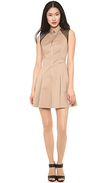 Robert Rodriguez Blocked Shirt Dress