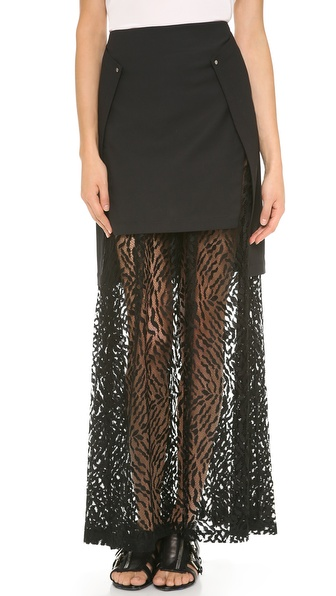 Robert Rodriguez Warrior Maxi Skirt