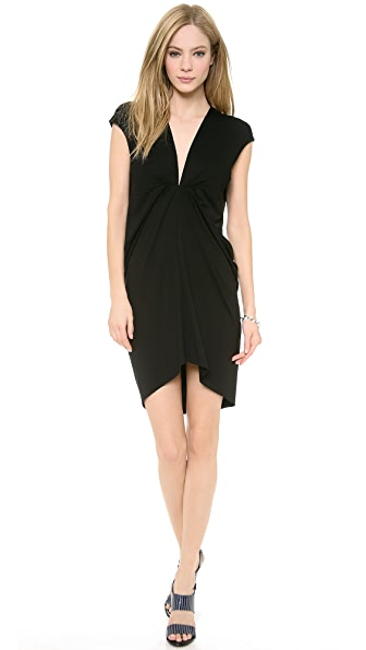 Robert Rodriguez Jersey V Neck Dress