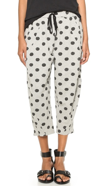 Robert Rodriguez Batik Dot Sweatpants