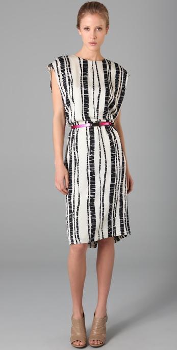 Rachel Roy Print Column Dress
