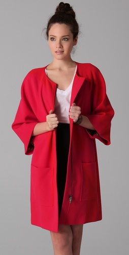 Rachel Roy Car Coat