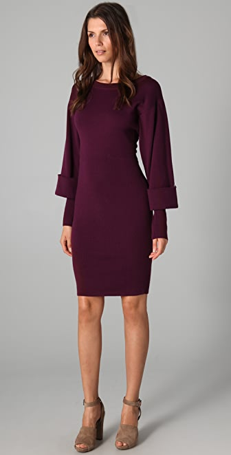 Rachel Roy Double Sleeve Knit Dress