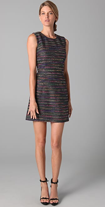 Rachel Roy Tweed Shift Dress