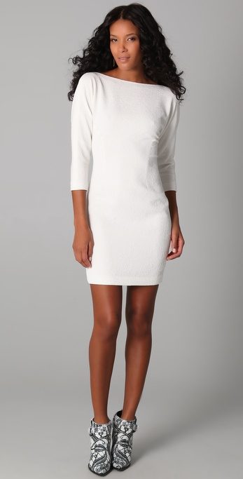 Rachel Roy Textured Sheath Dress