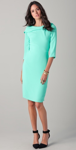 Rachel Roy Drape Back Dress