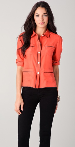 Rachel Roy Pajama Shirt