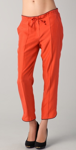Rachel Roy Tie Front Pants
